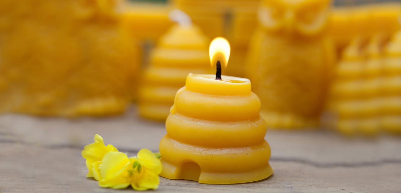 Handmade Beeswax Candles