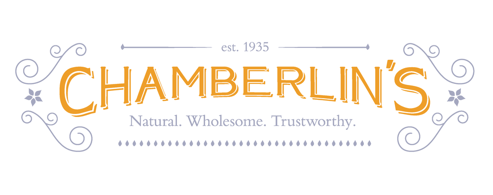 Chamberlin's Natural. Wholesome. Trustworthy