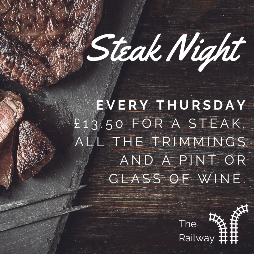 Steak night at the railway (2)