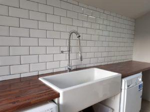 Utility room tiler
