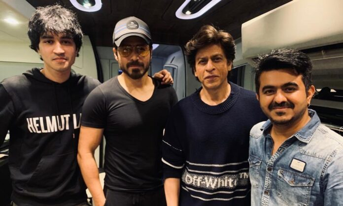 Emraan hasmi with srk