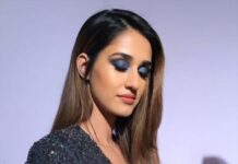 DIsha patani at lakme india fashion week