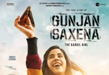 gunjan sharma-the kargil girl posters