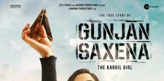 gunjan sharma-the kargil girl posters