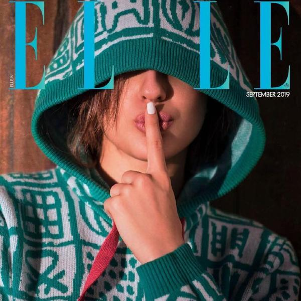 Sara Ali Khan shines on the cover of ELLE