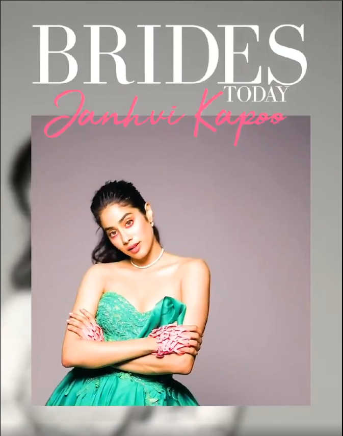 Janhvi plays the spunky, fearless new-age bride for Brides Today India's September special!
