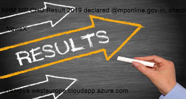NHM MP CHO Result 2019 declared @mponline.gov.in, check steps to download result here 4