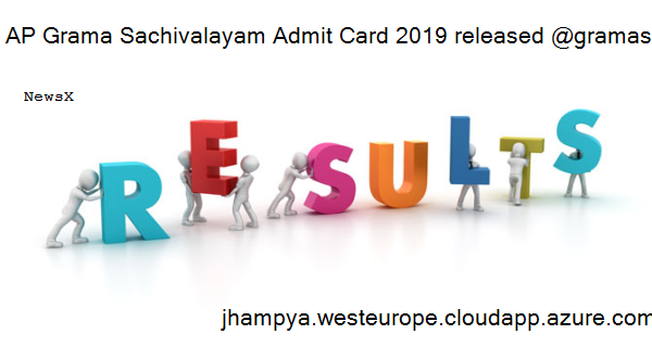 AP Grama Sachivalayam Admit Card 2019 released @gramasachivalayam.ap.gov.in, check steps to download hall ticket 3