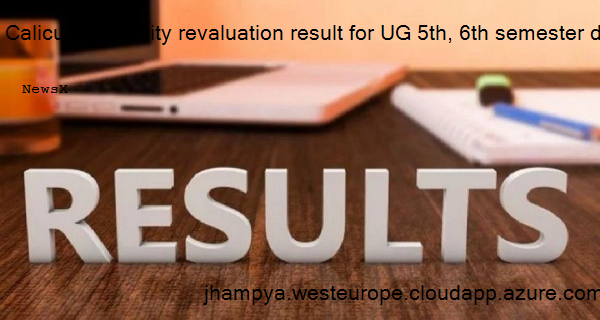 Calicut University revaluation result for UG 5th, 6th semester declared, check how to download 4