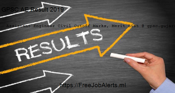 GPSC AE Result 2019 4