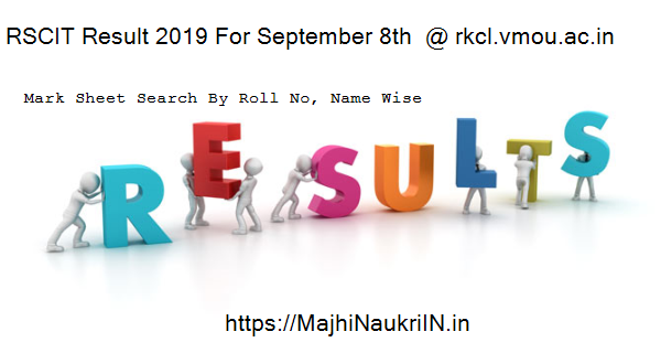 RSCIT Result 2019 For September 8th  @ rkcl.vmou.ac.in 4