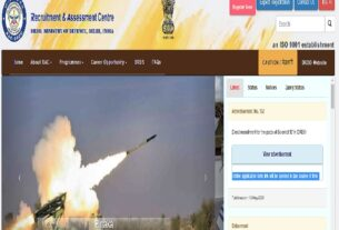 DRDO RAC Recruitment 2020:Online Application Link Activated @drdo.gov.in for 185 Scientist B/Engineer Posts 3