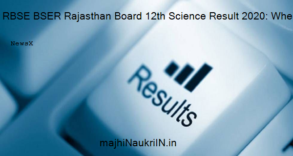 RBSE BSER Rajasthan Board 12th Science Result 2020: When and where to check marks 10
