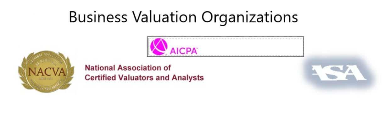 ASA, NACVA, AICPA logos
