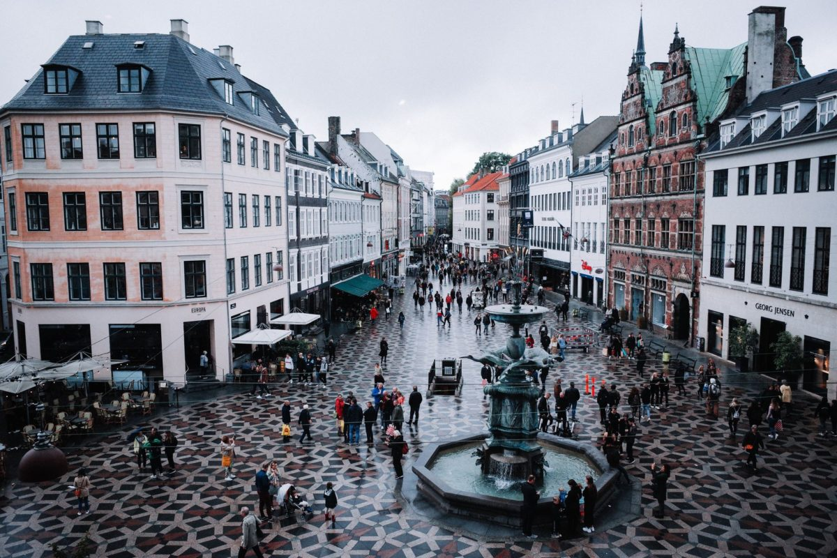 Copenhagen for a student – city guide with a map