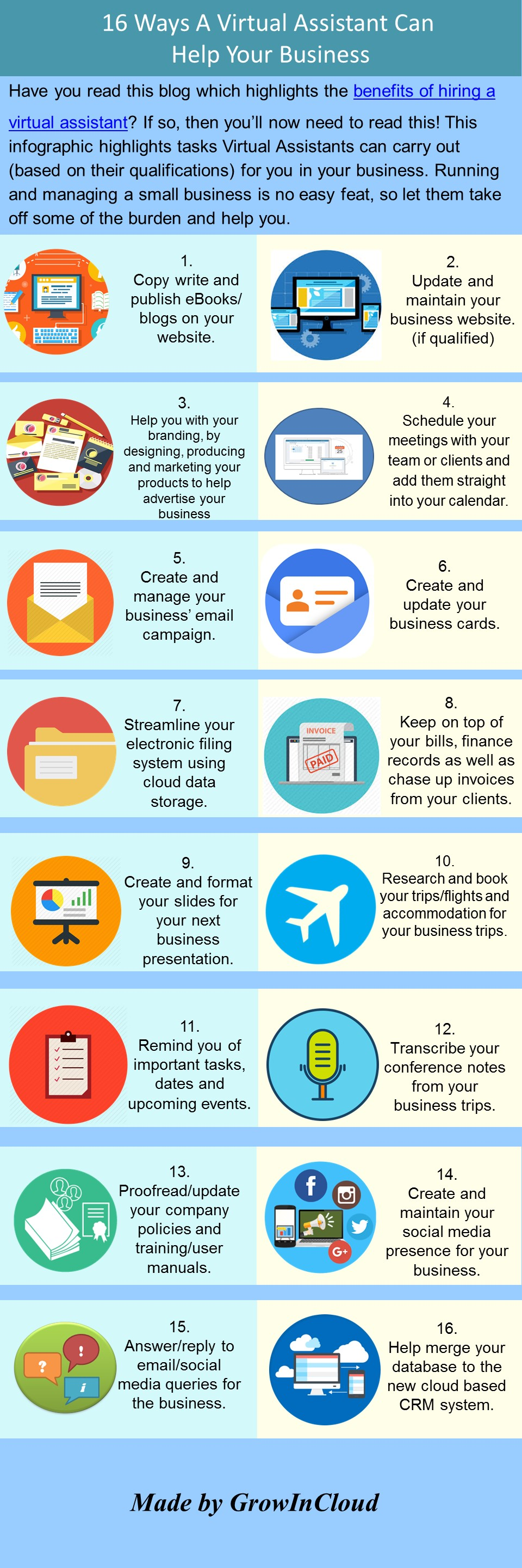 16 ways VA can help your business