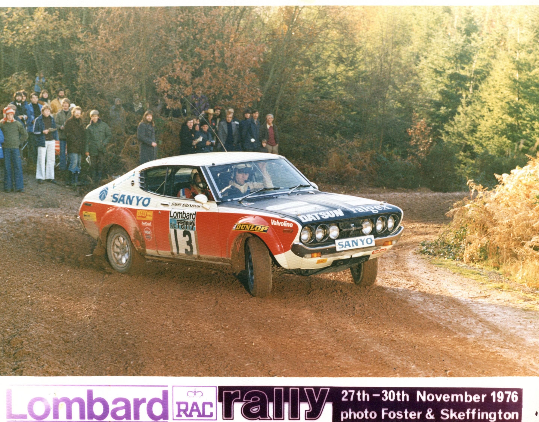 Harry Kallstrom (2) 1976 RAC