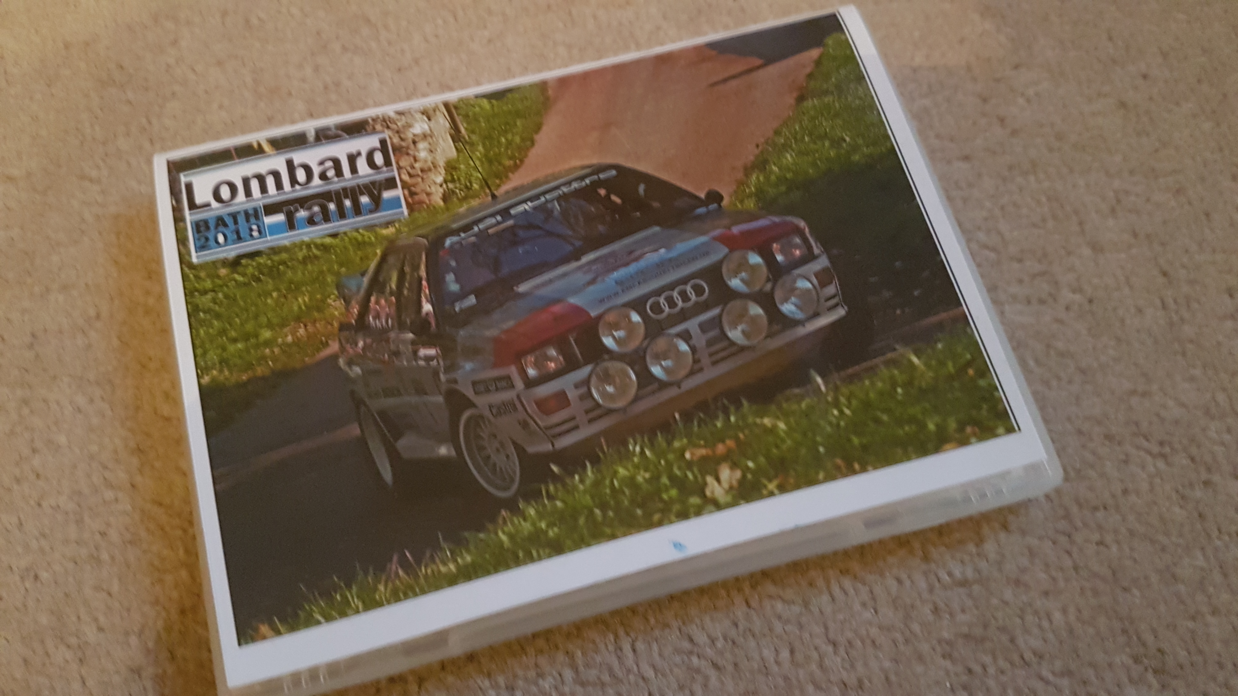 Lombard Rally Bath dvd