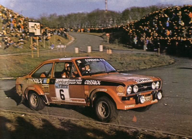 +1976 RAC WINNER R CLARK-S PEGG Ellesmere Port