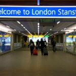 London Airport, Stansted london airport,