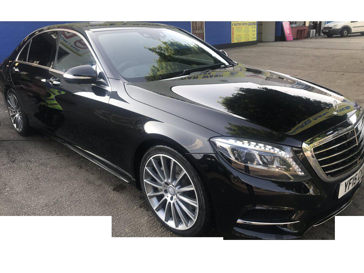 Scott's luxury S-Class Mercedes Saloons