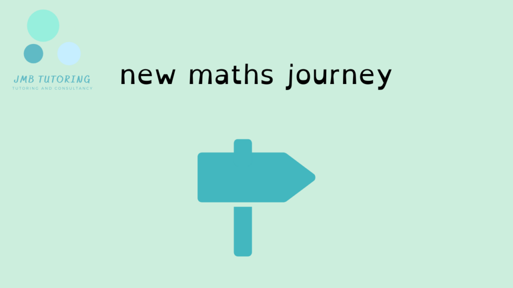 New maths journey picture