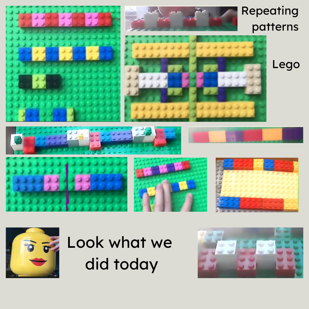 what we did in the lesson Lego