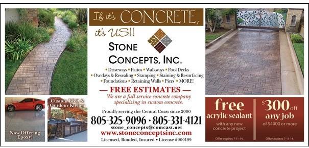 Stone Concepts Ad