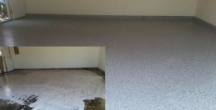 before and after photos epoxy garage floor