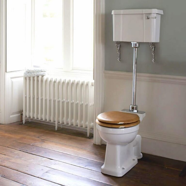Standard Medium Level WC with 520 Lever Cistern