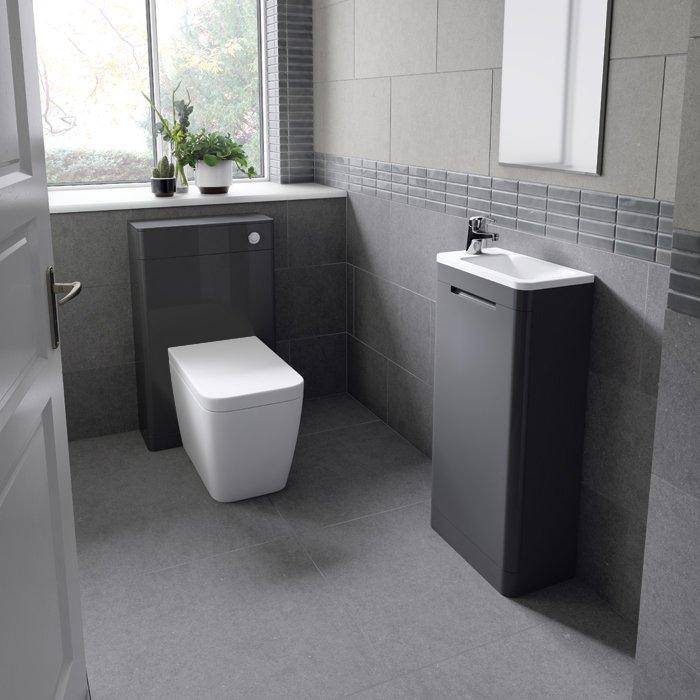 Arc Floor Standing Cloakroom Basin
