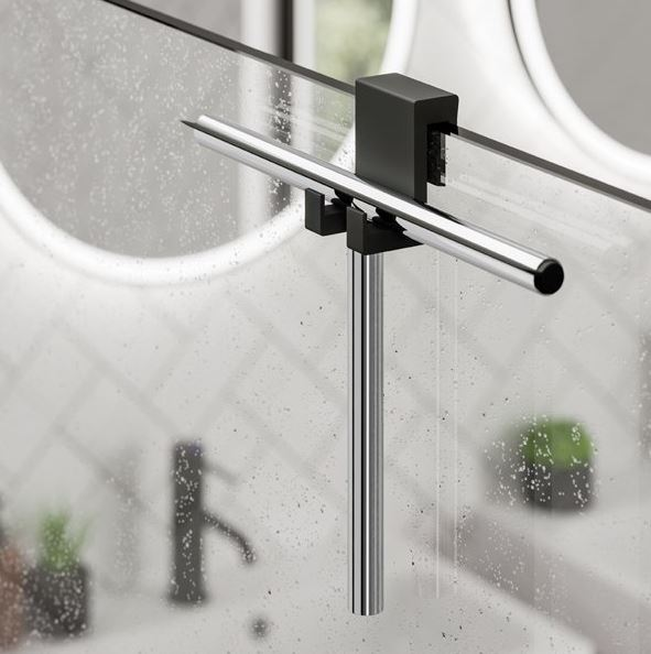 Shower Squeegee and Holder