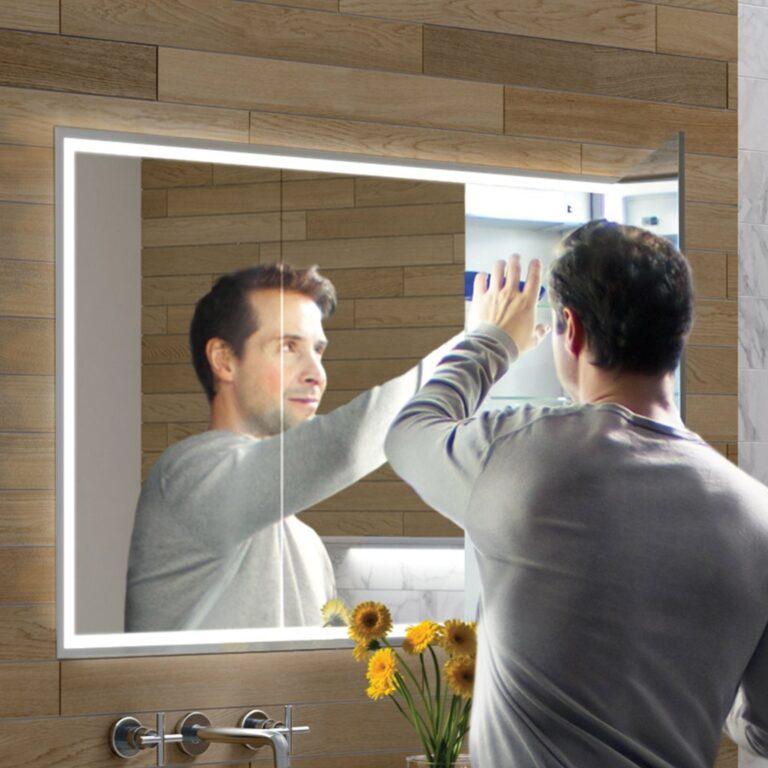 Vanquish Recessed Mirror Cabinet