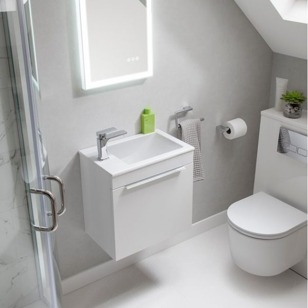 Zion Wall Hung Cloakroom Basin