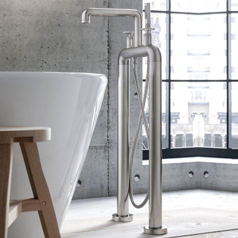 UNION Free Standing Bath Filler & Shower Kit