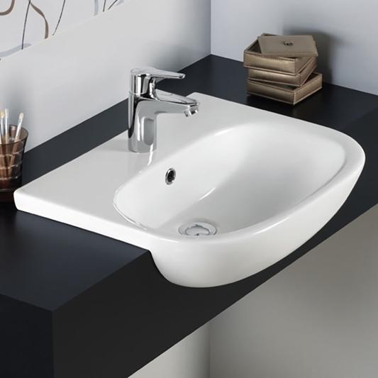 RAK Tonique Semi Recessed Basin