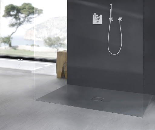 Kaldewei Conoflat Grey Shower Tray