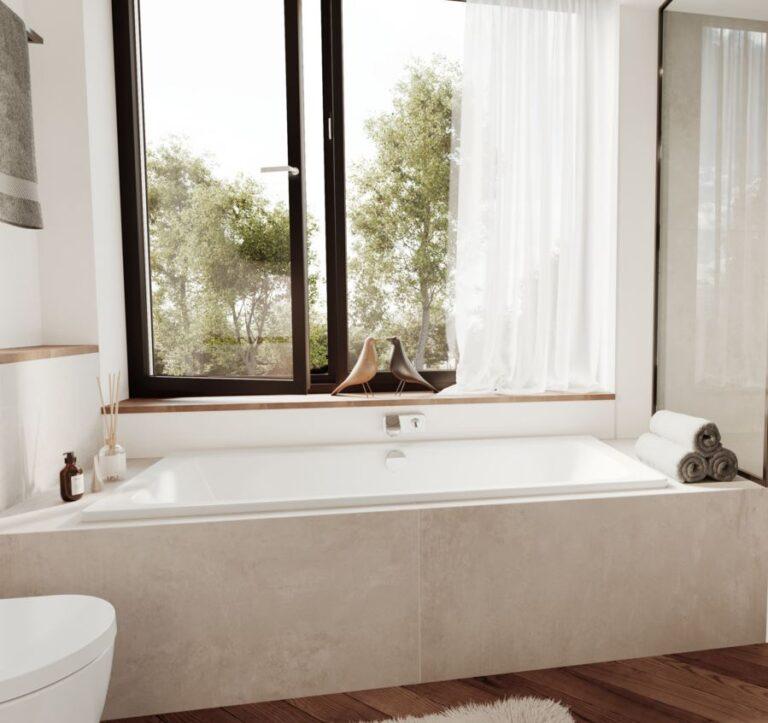 Cayono Duo Steel Bath