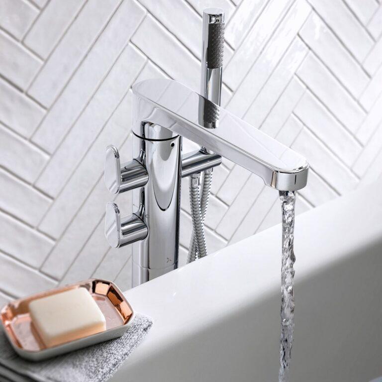 Celeste Freestaning Bath Tap