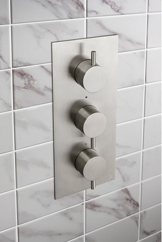 MPRO Thermostatic Shower Valve with 2 Way Diverter