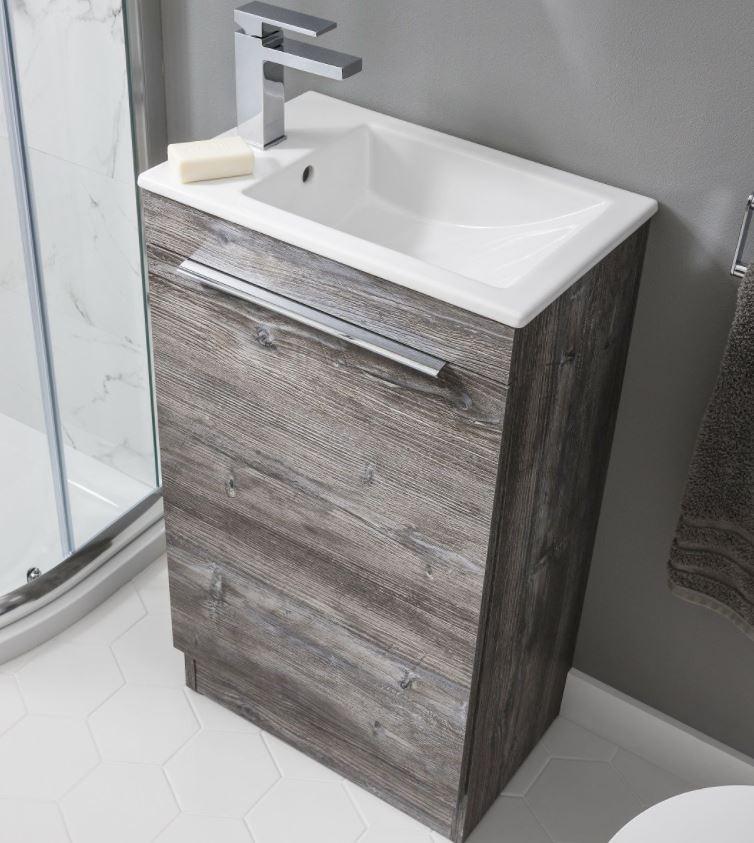 Zion Floor Staning Cloakroom Basin