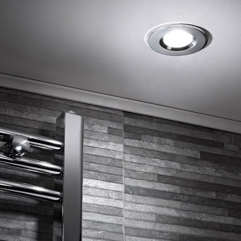 Cool White Fire Rated LED Showerlight