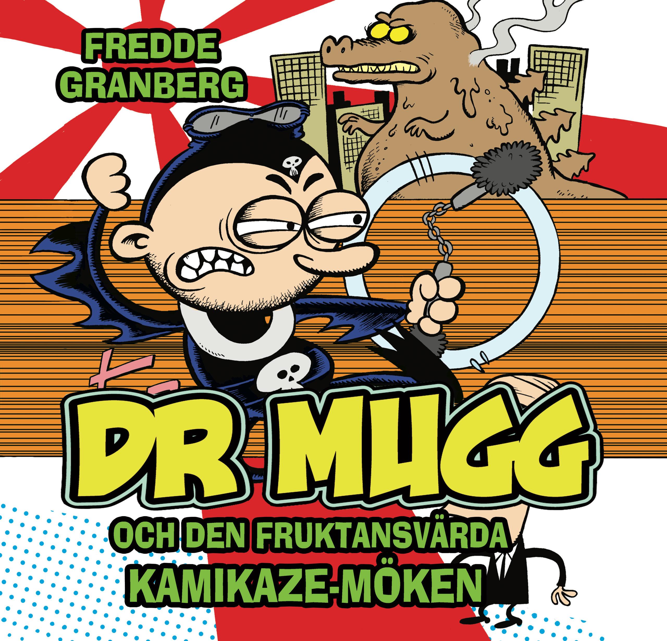 Dr Mugg kamikaze omslag