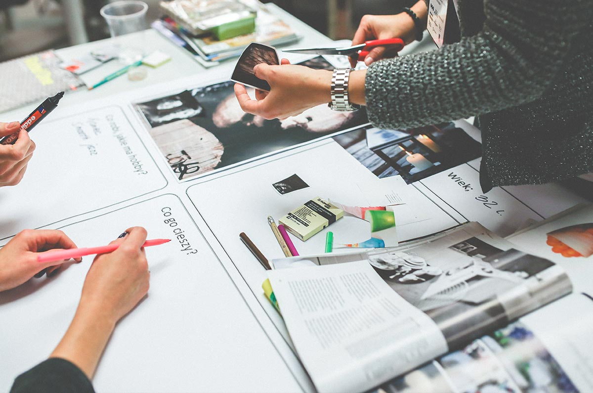 Design thinking is a process for creative problem solving
