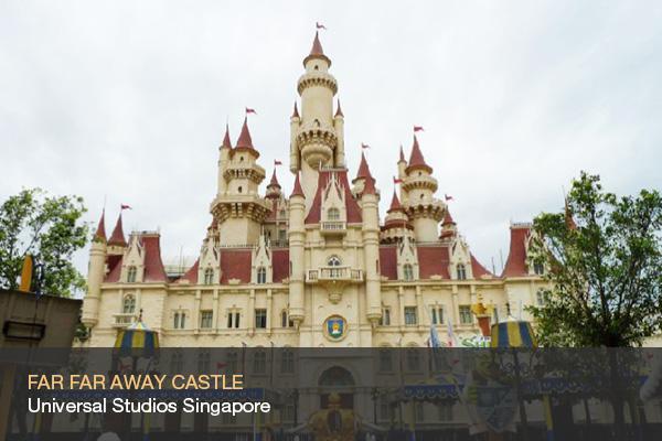 FAR FAR AWAY CASTLE @Universal Studios Singapore