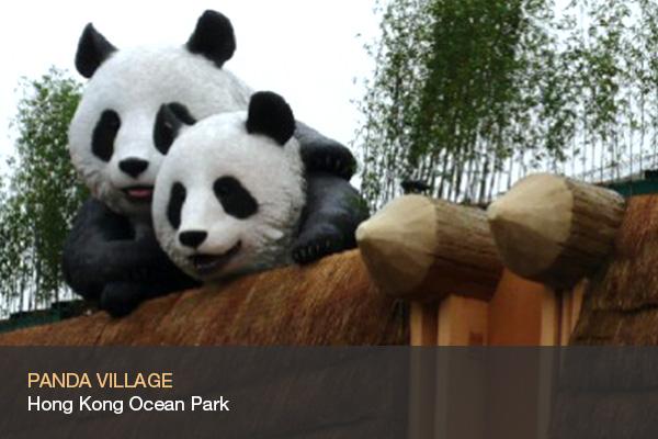 PANDA VILLAGE @Hong Kong Ocean Park