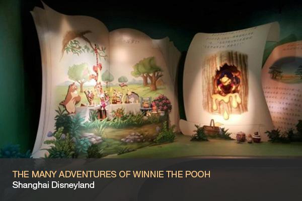 THE MANY ADVENTURES OF WINNIE THE POOH @Shanghai Disneyland