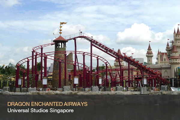 DRAGON ENCHANTED AIRWAYS @Universal Studios Singapore