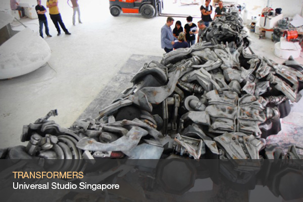 TRANSFORMERS @Universal Studios Singapore