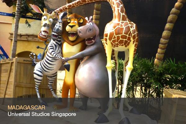 MADAGASCAR @Universal Studios Singapore